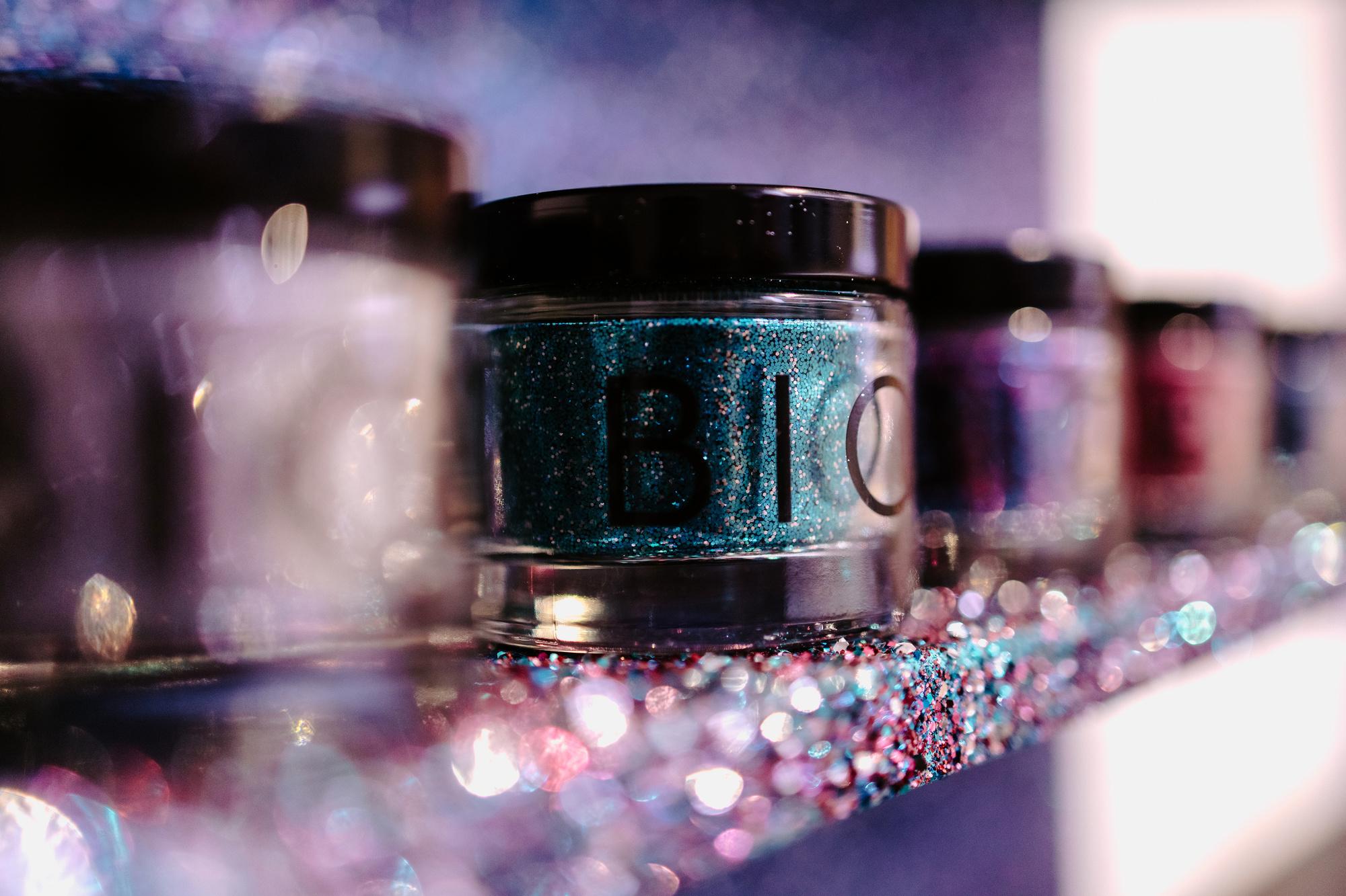 De glitter van BioGlitz kan je testen tijdens de expo, Alina Krasieva