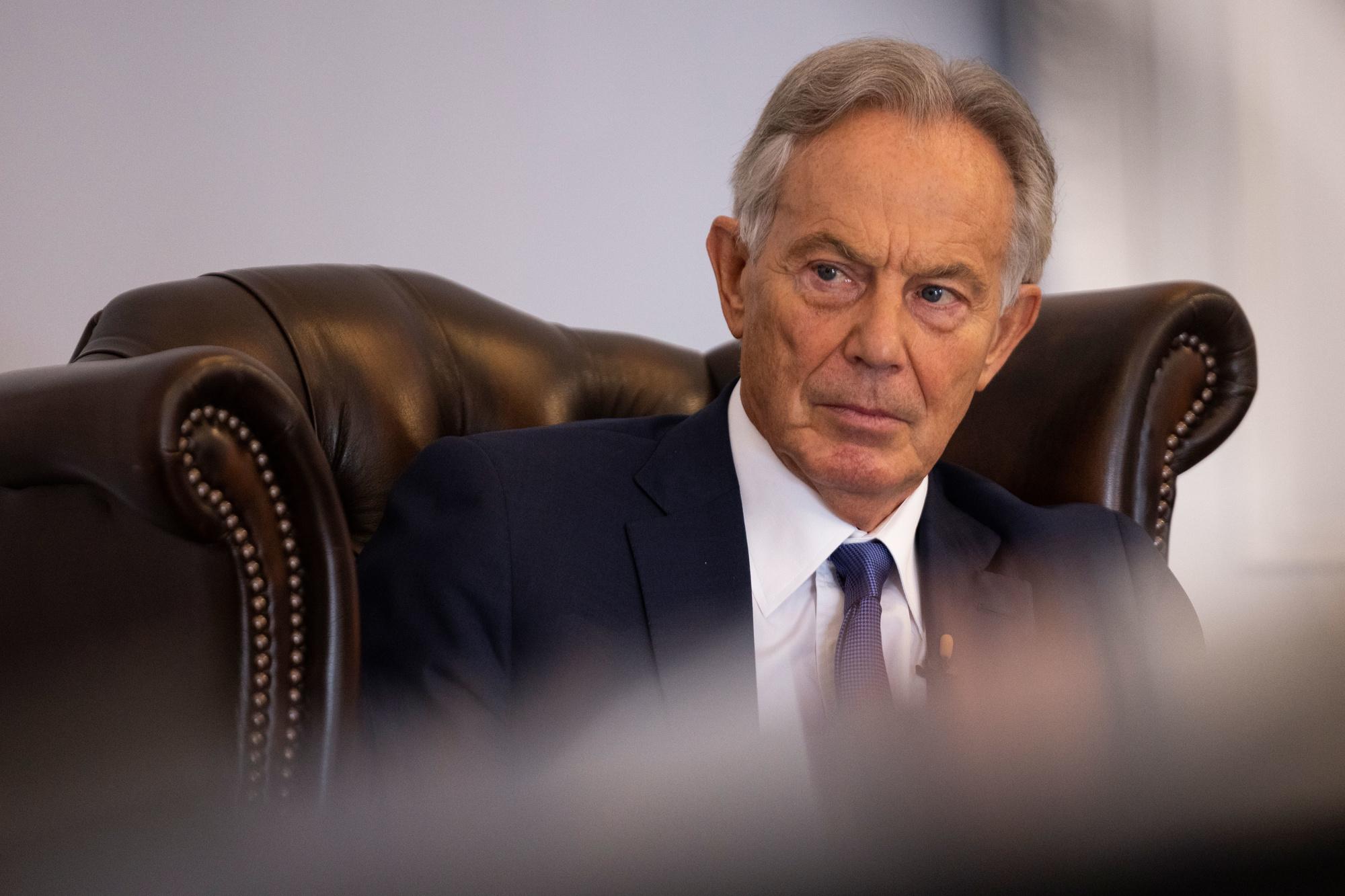 Voormalig Brits premier Tony Blair., iStock