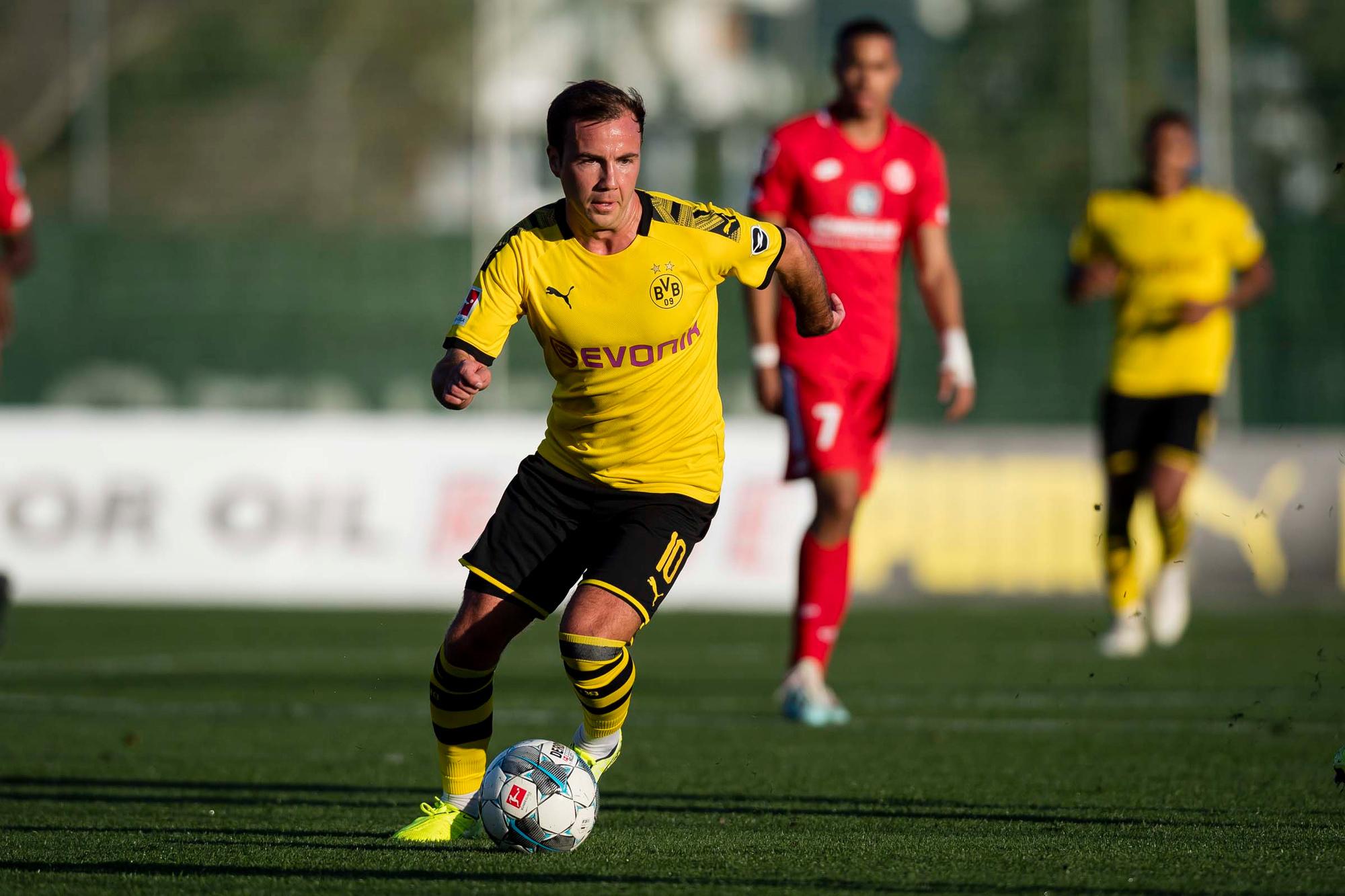 Mario Götze speelde dit seizoen amper 502 minuten in 13 Bundesligaduels en scoorde daarin 3 keer., GETTY