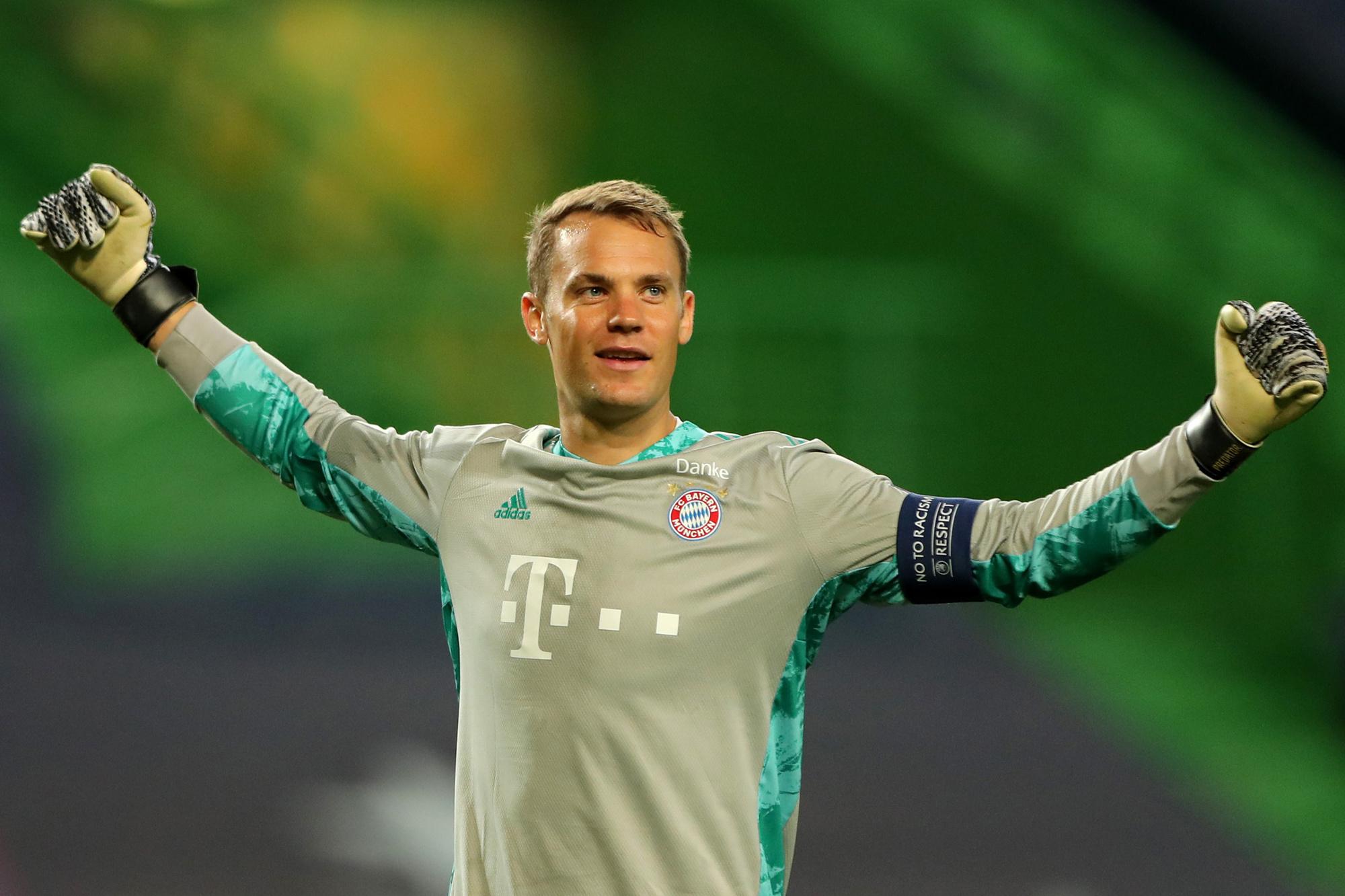 Manuel Neuer bewees dit seizoen nog maar eens waarom hij de een van de beste keepers ter wereld is, GETTY