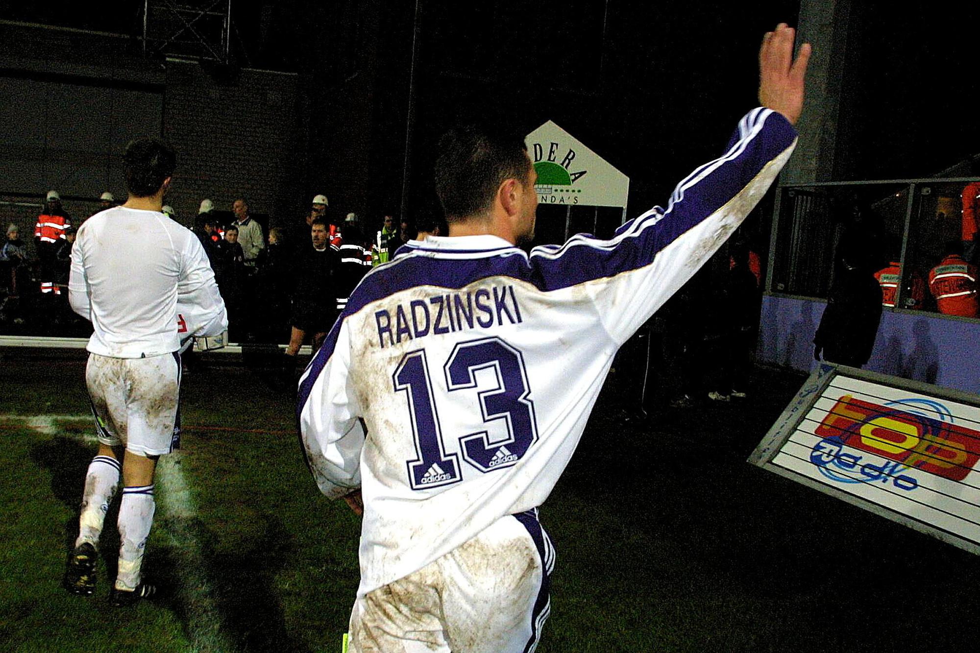 Le numéro 13 des Mauves a marqué l'histoire du championnat belge., BELGA