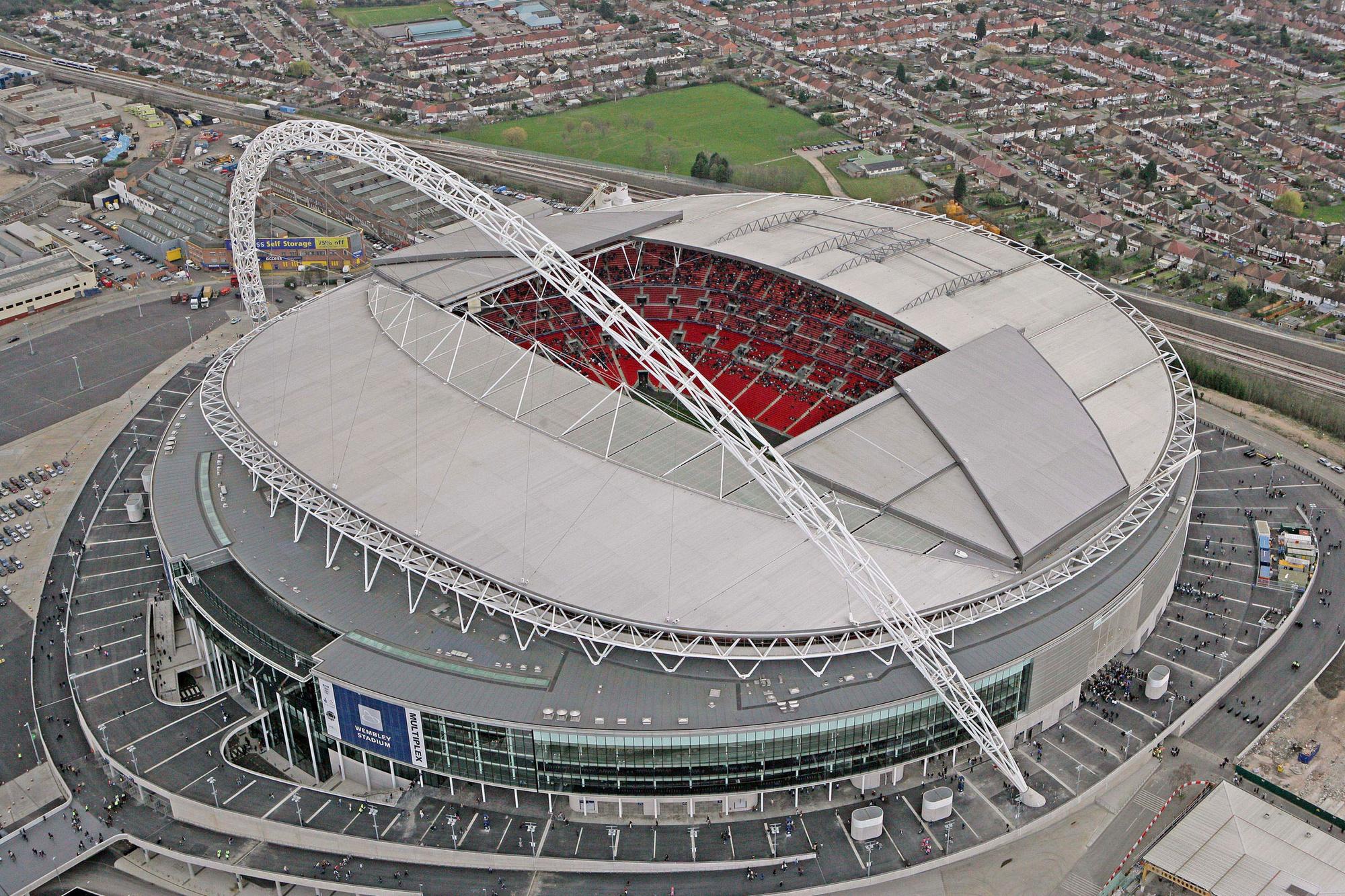 Het vernieuwde Wembley, GETTY