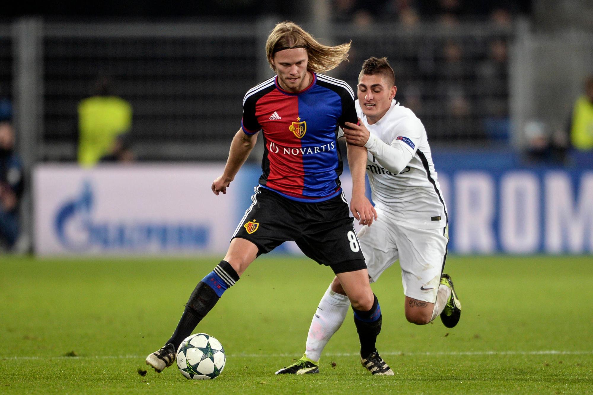 A Bâle, Bjarnason découvre la Champions League., belga
