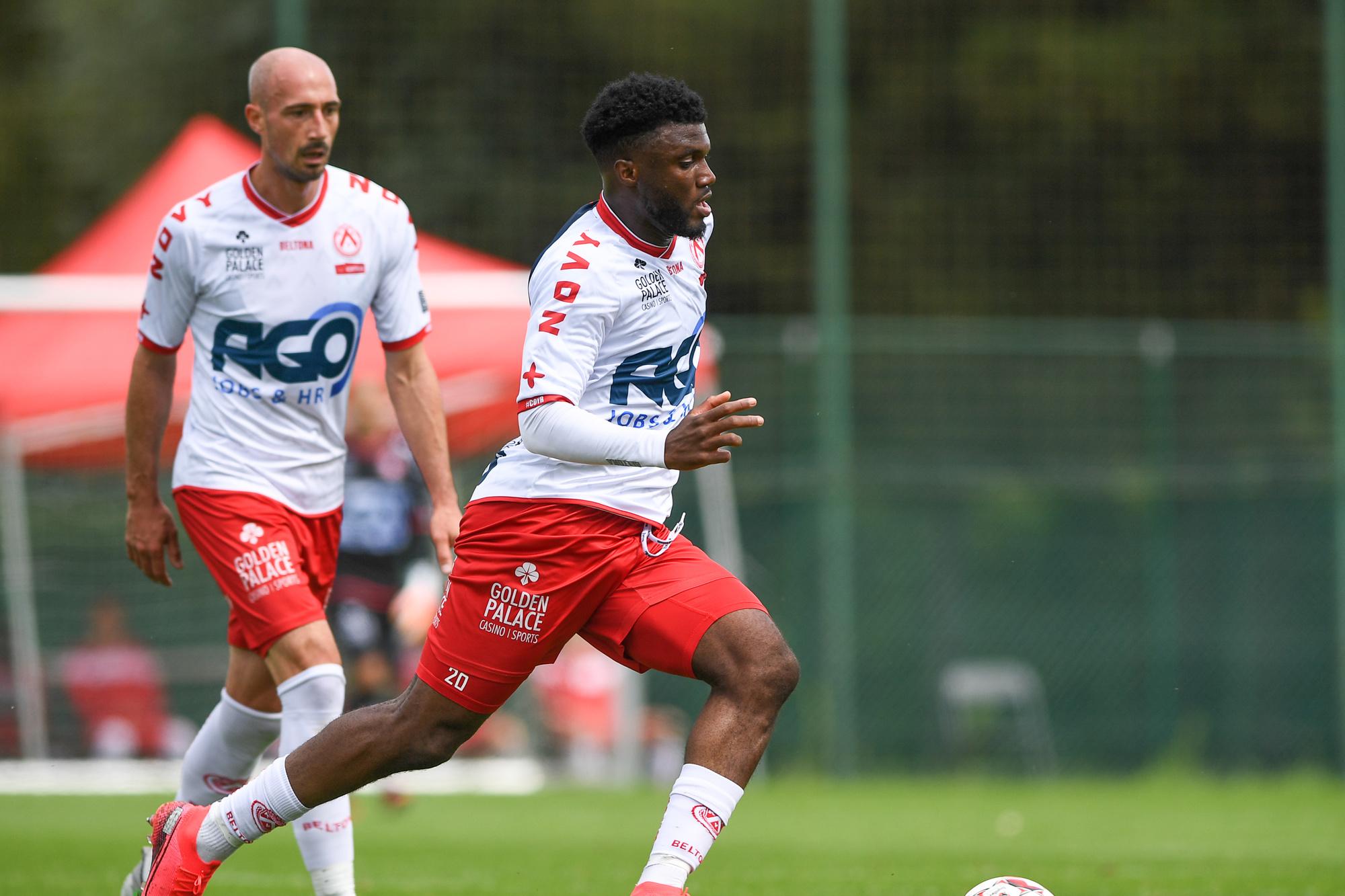 Terem Moffi va rapporter entre sept et huit millions d'euros à Courtrai: un record pour le club., SPORTPIX.BE (DAVID CATRY)