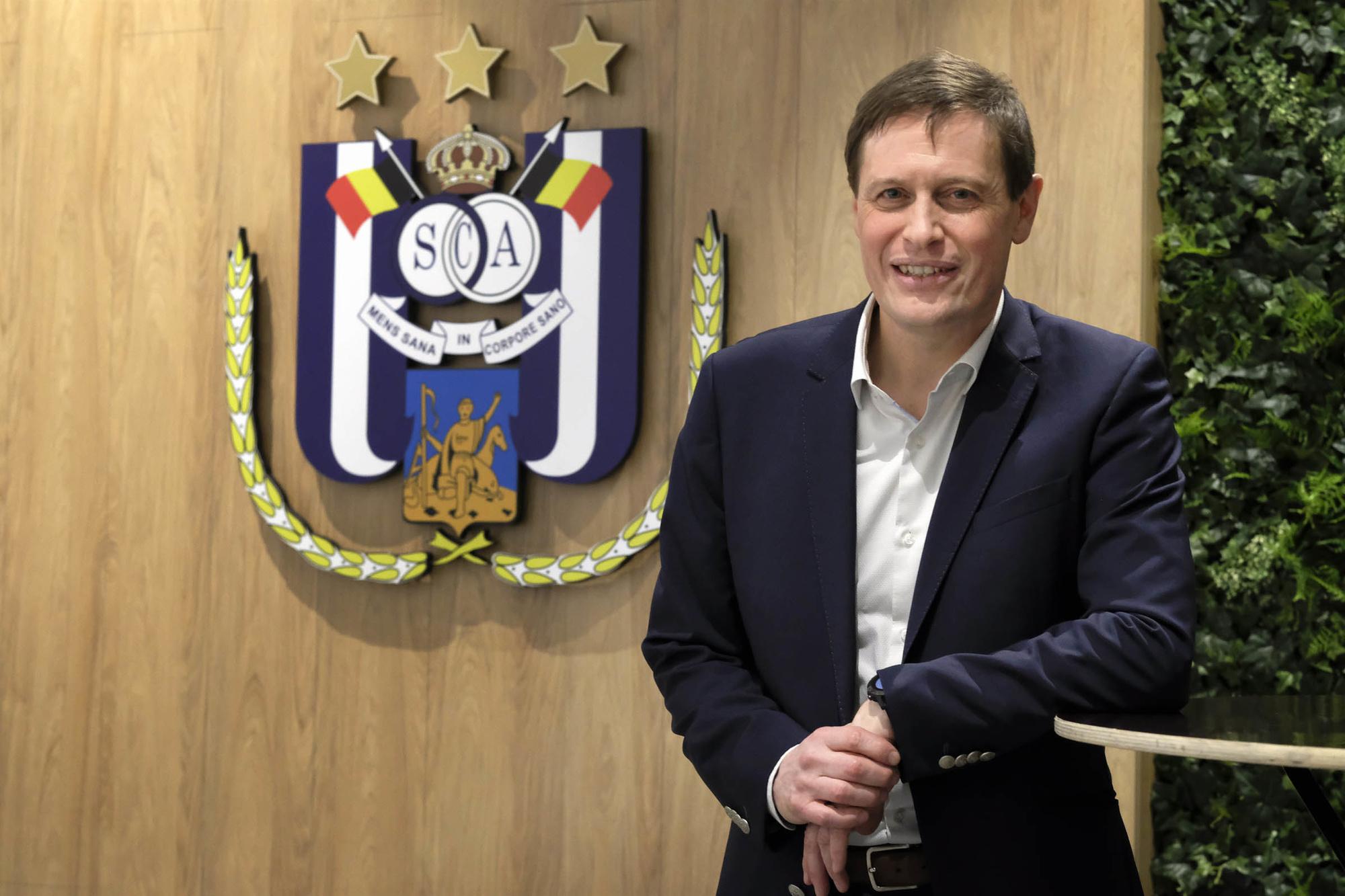 Anderlecht-CEO Karel Van Eetvelt, Belga Image