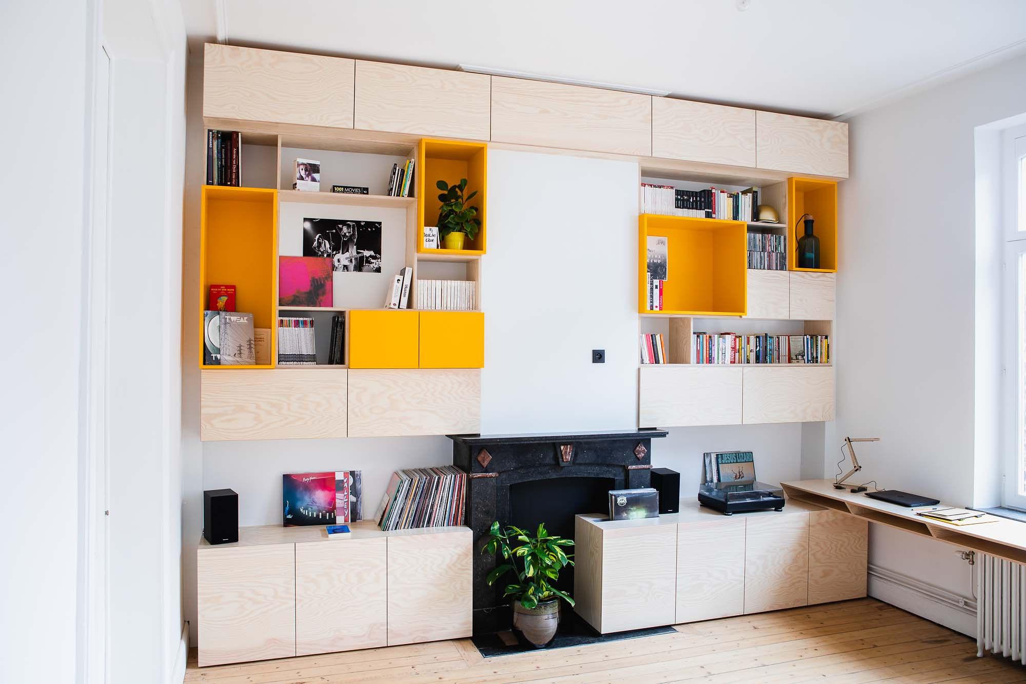 De mooie boekenkast, Idrisse Hidara