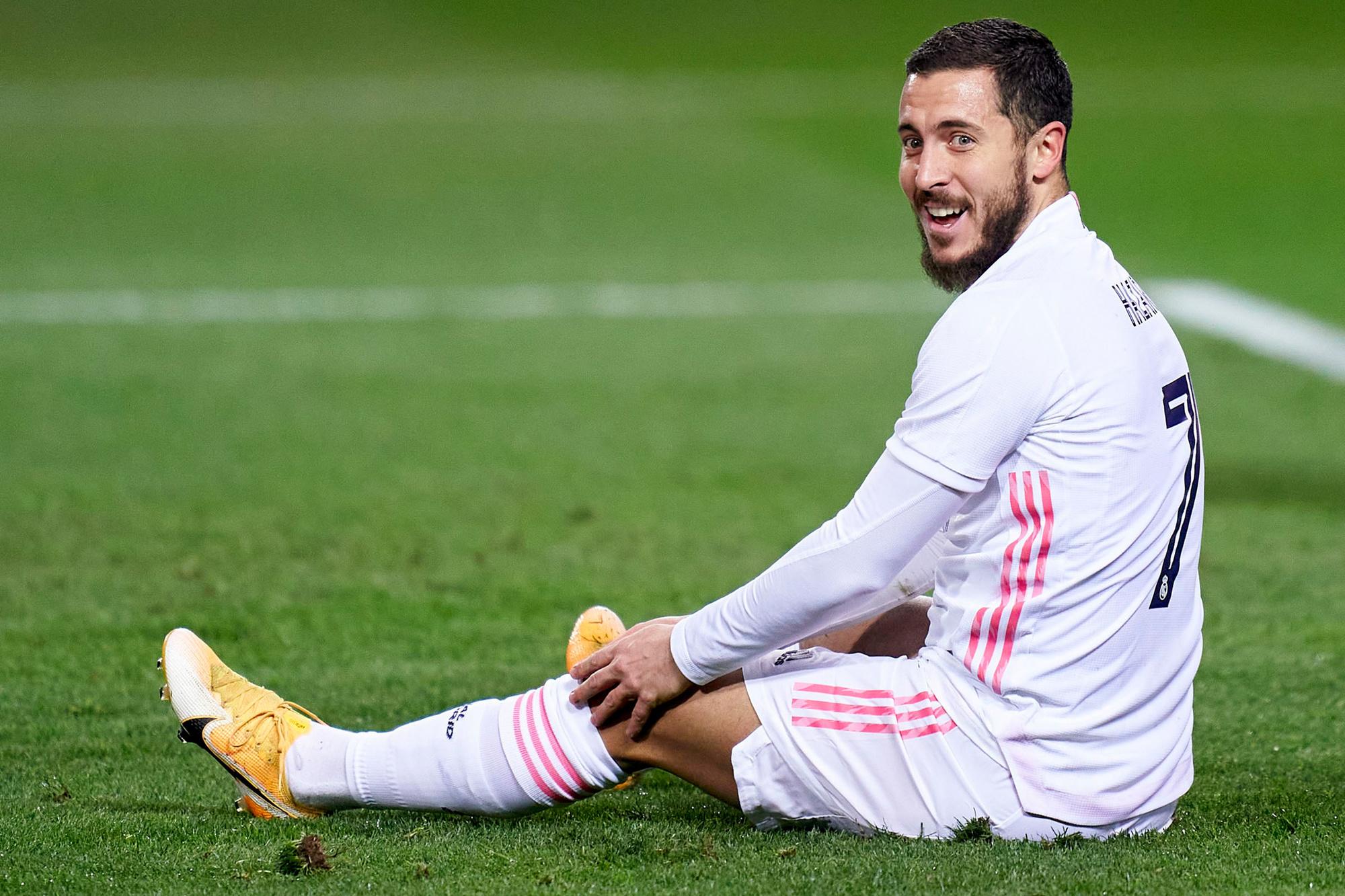 Eden Hazard, te chill voor de harde voetbalwereld?, GETTY