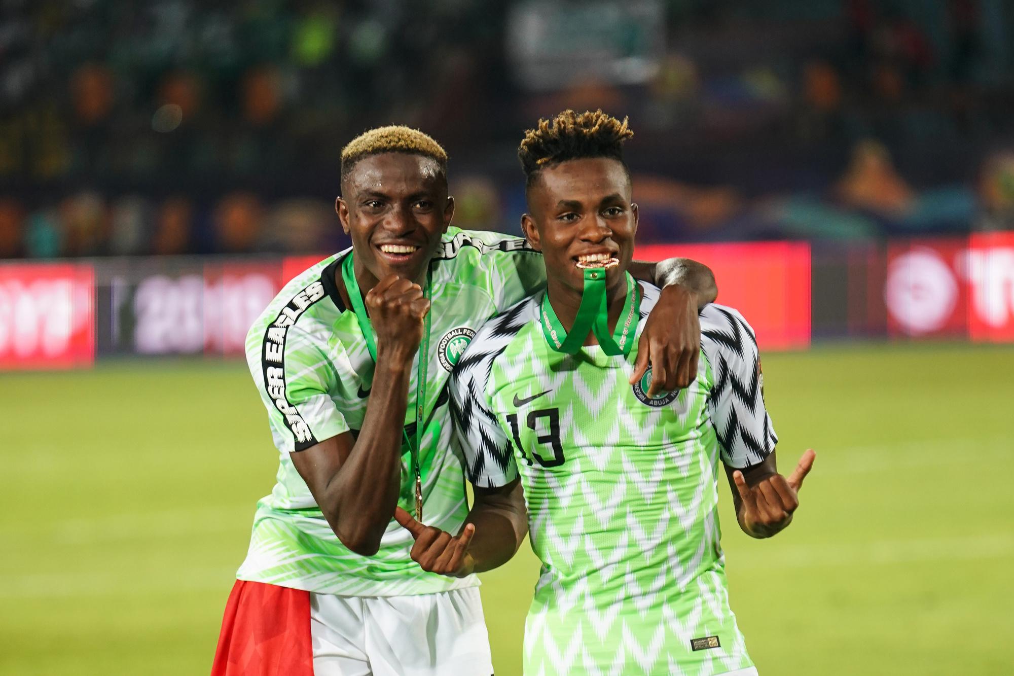 Osimhen et Chukwueze ont découvert la CAN l'été dernier, sous les couleurs du Nigéria, iStock
