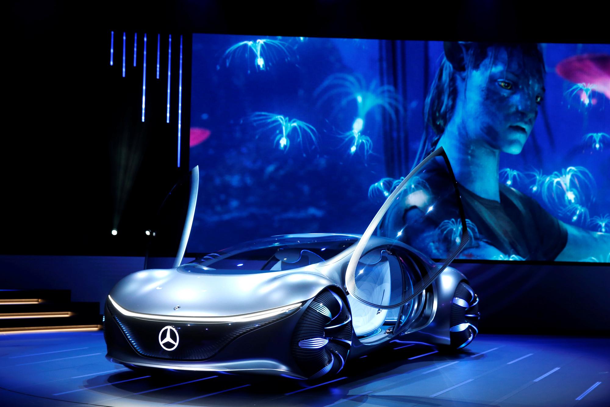 De Vision AVTR van Mercedes., REUTERS
