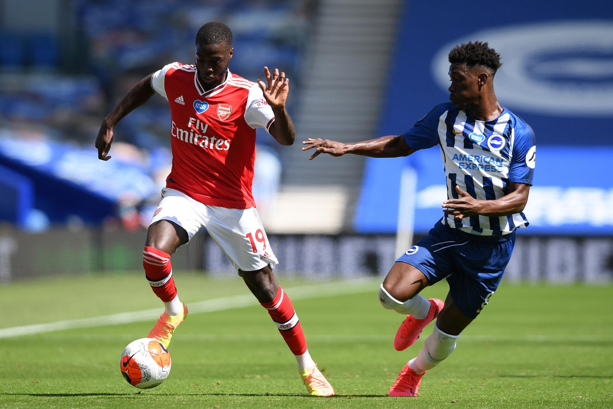 Nicolas Pépé heeft al getoond wat hij kan, maar zal dat volgend seizoen nog meer moeten laten zien., GETTY