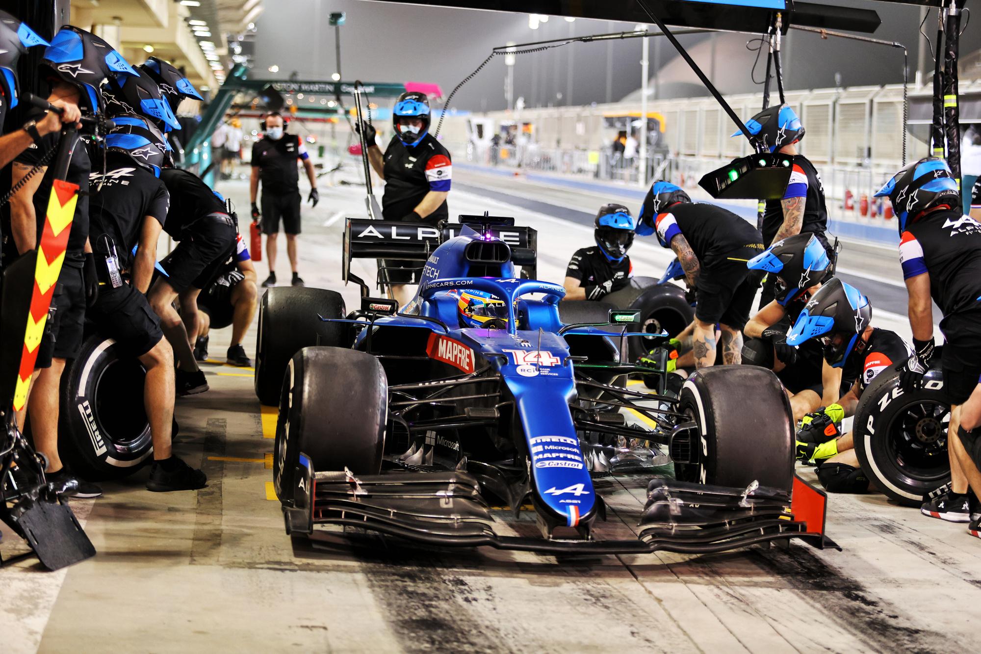 C'est le grand retour en F1 de Fernando Alonso, chez Alpine., PRESSASSOCIATION