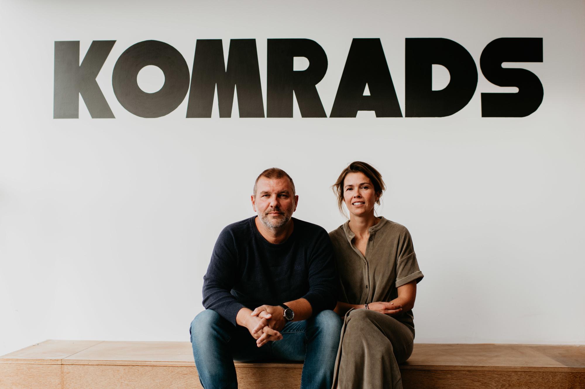Mark Vandevelde en Greet Goegebuer, Komrads