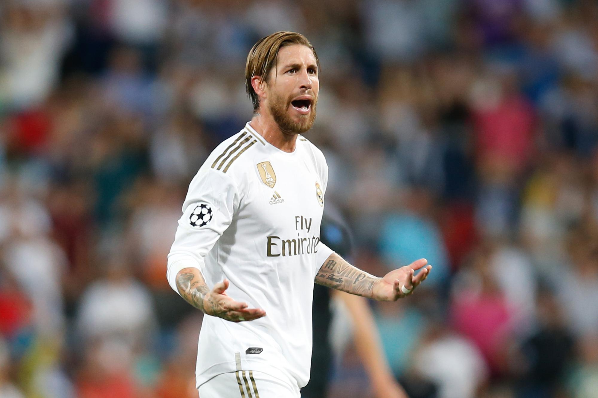 Ramos leidde zijn team naar een nieuwe titel in Spanje, GETTY