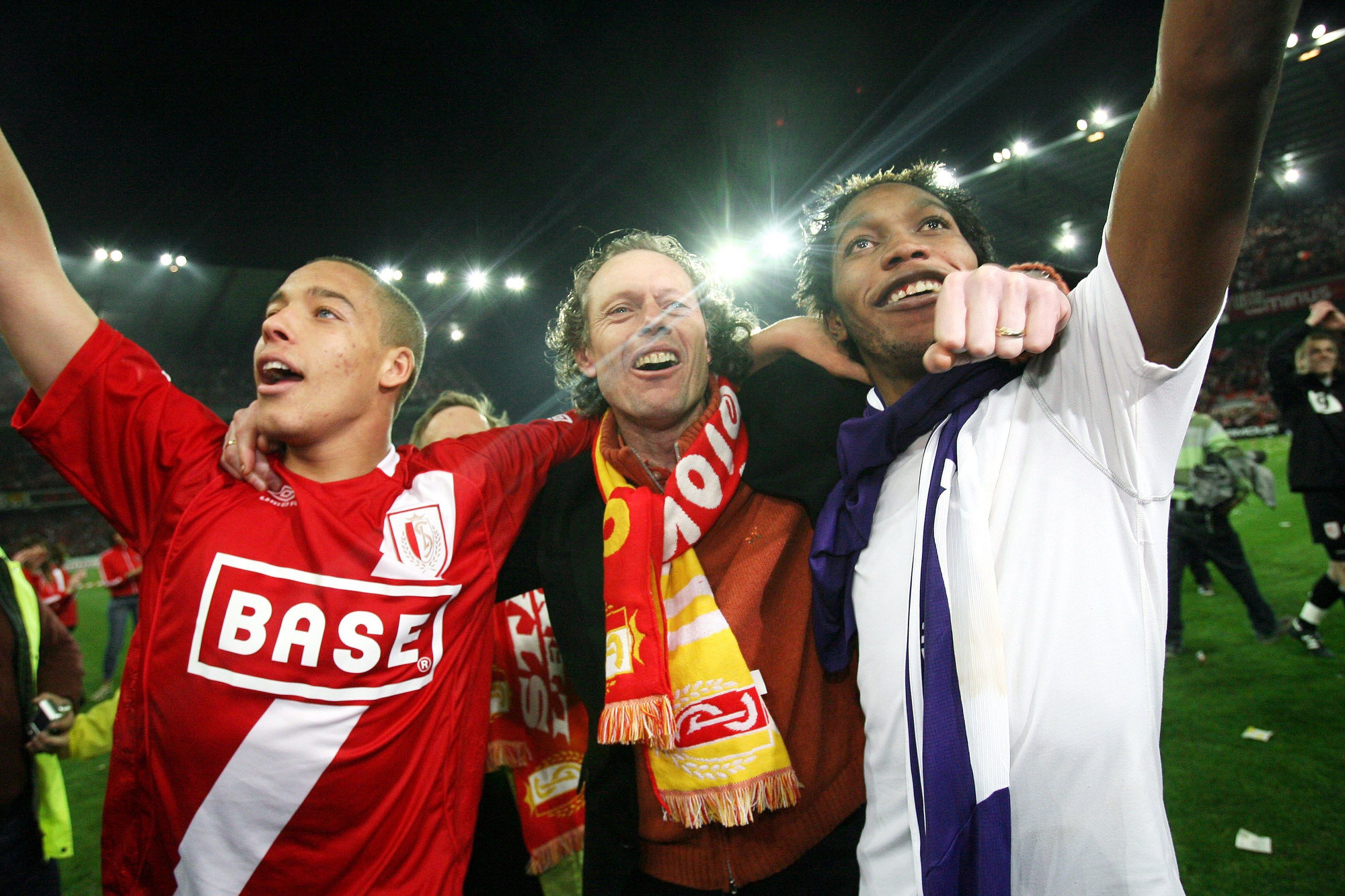 Witsel, MPH et Mbokani., belga
