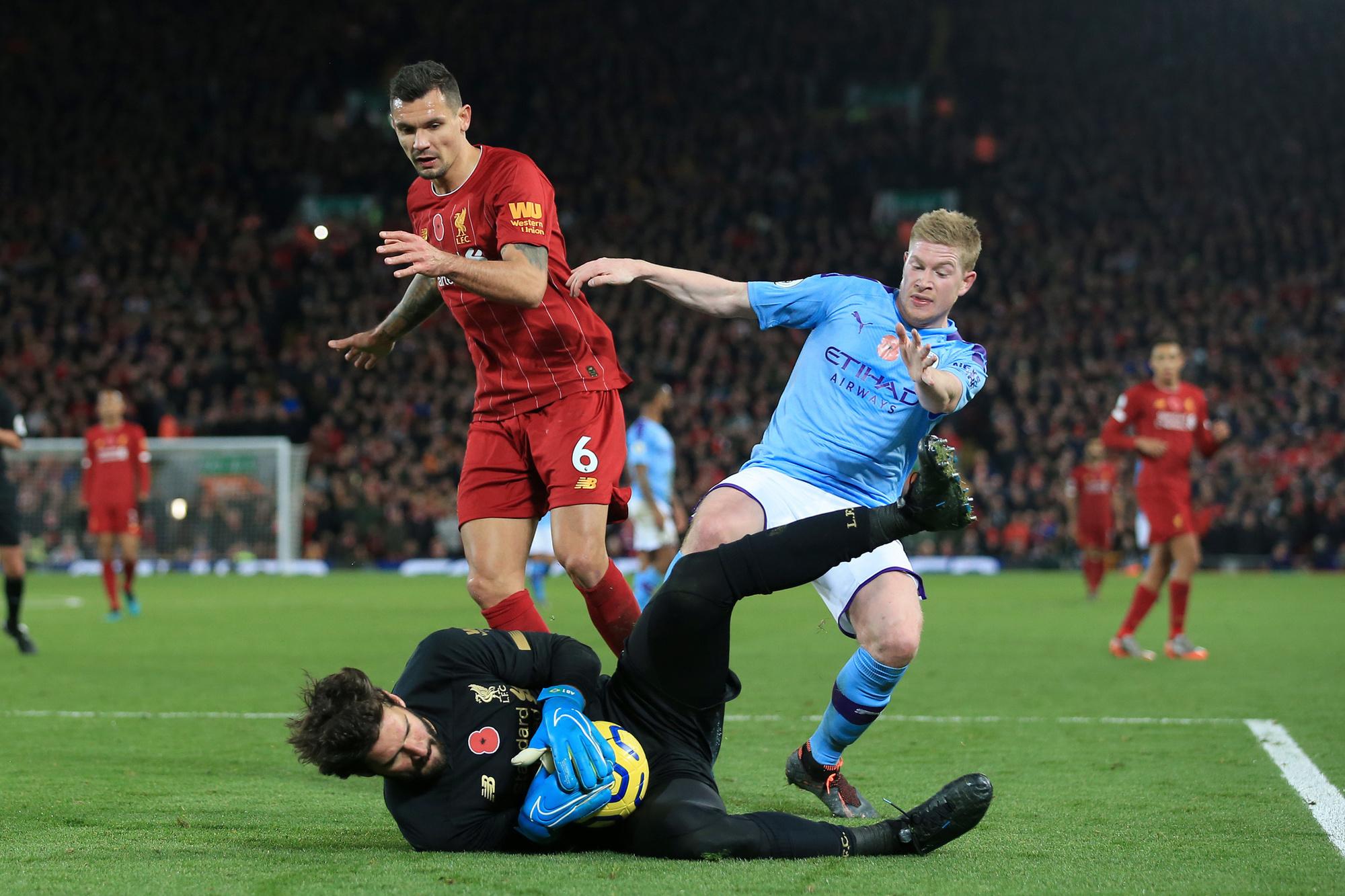 Is de verdediging of de keeper van Liverpool zo goed?, GETTY