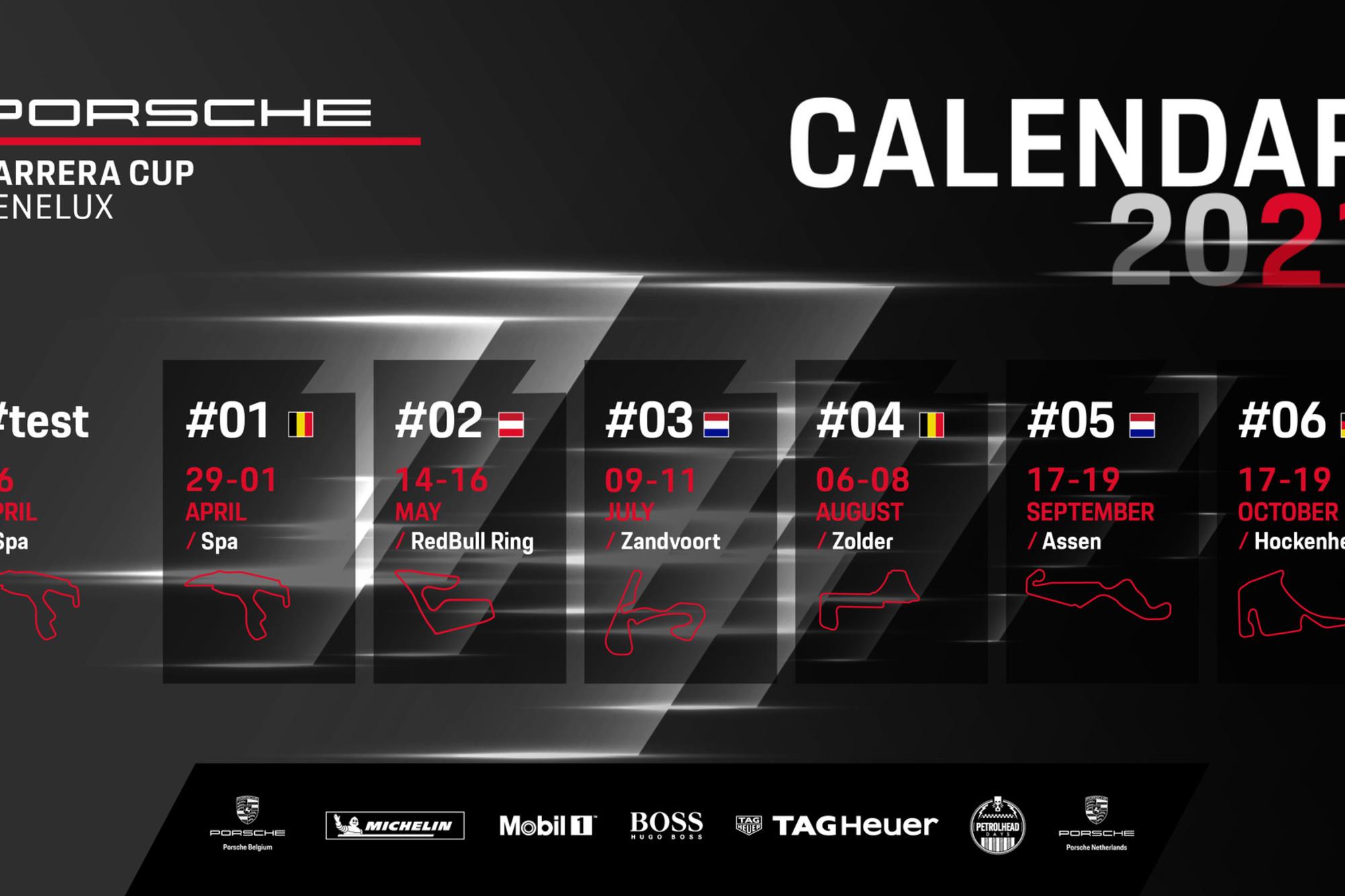 Porsche Carrera Cup Benelux, GF