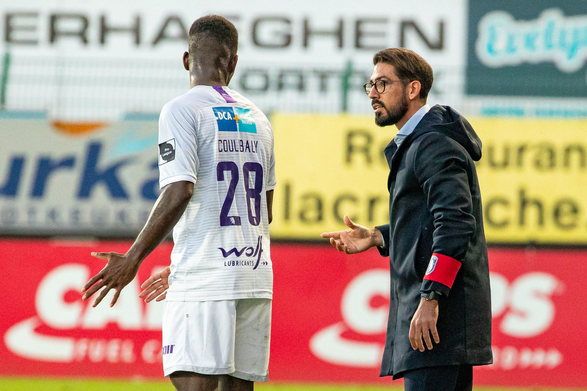 Hernán Losada: 'Ik zou het van mezelf misdadig gevonden hebben om Coulibaly uit de ploeg te laten.', Belga Image