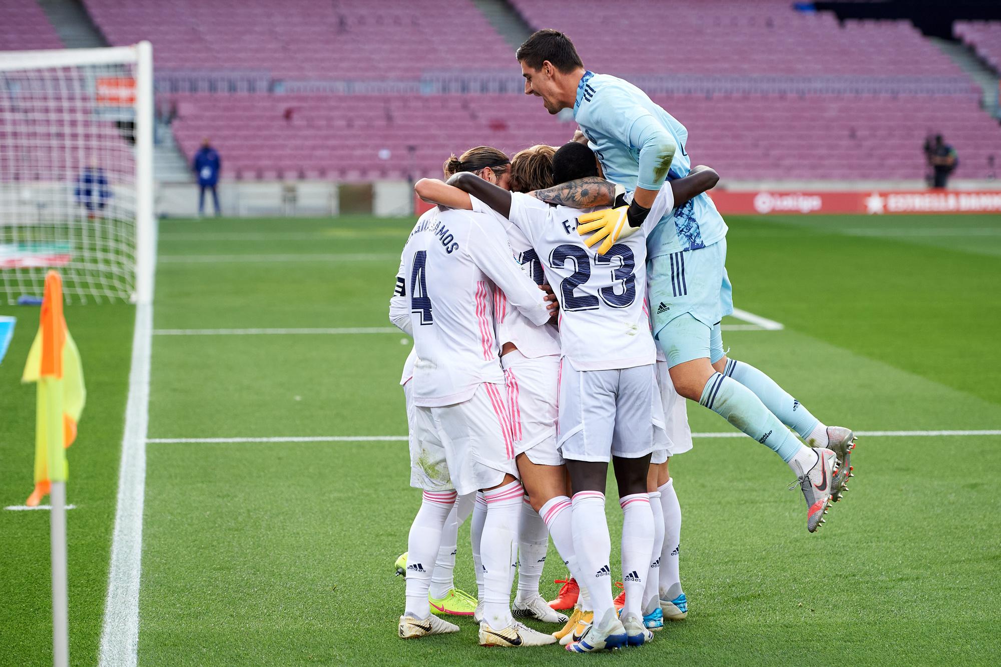 Real Madrid won de laatste Clásico en staat zo voor in het aantal overwinningen, GETTY