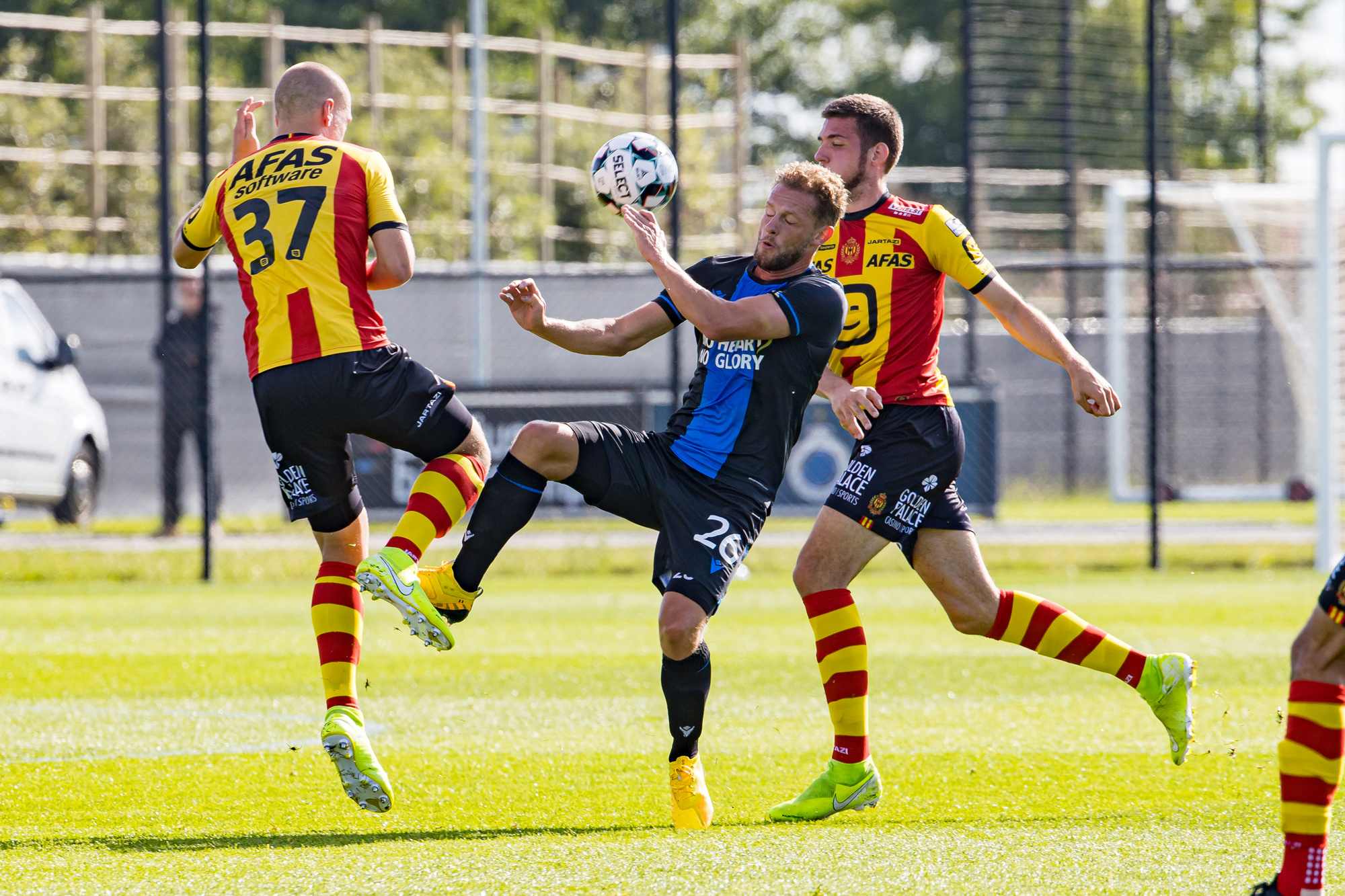 De voorbereiding van KV Mechelen liep niet al te vlot met enkele serieuze nederlagen., Belga Image