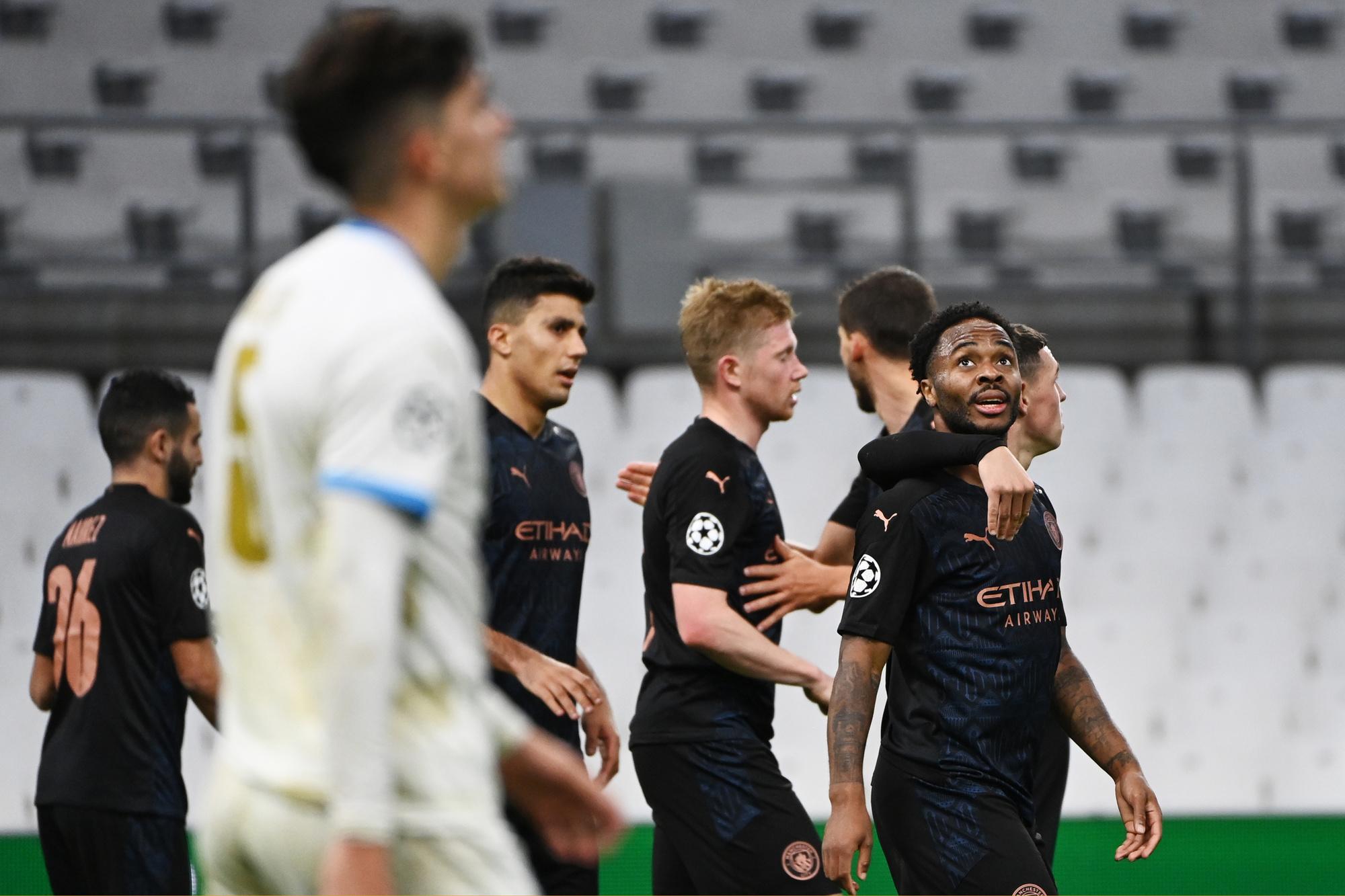City ging in de Champions League eenvoudig voorbij Marseille, Belga Image