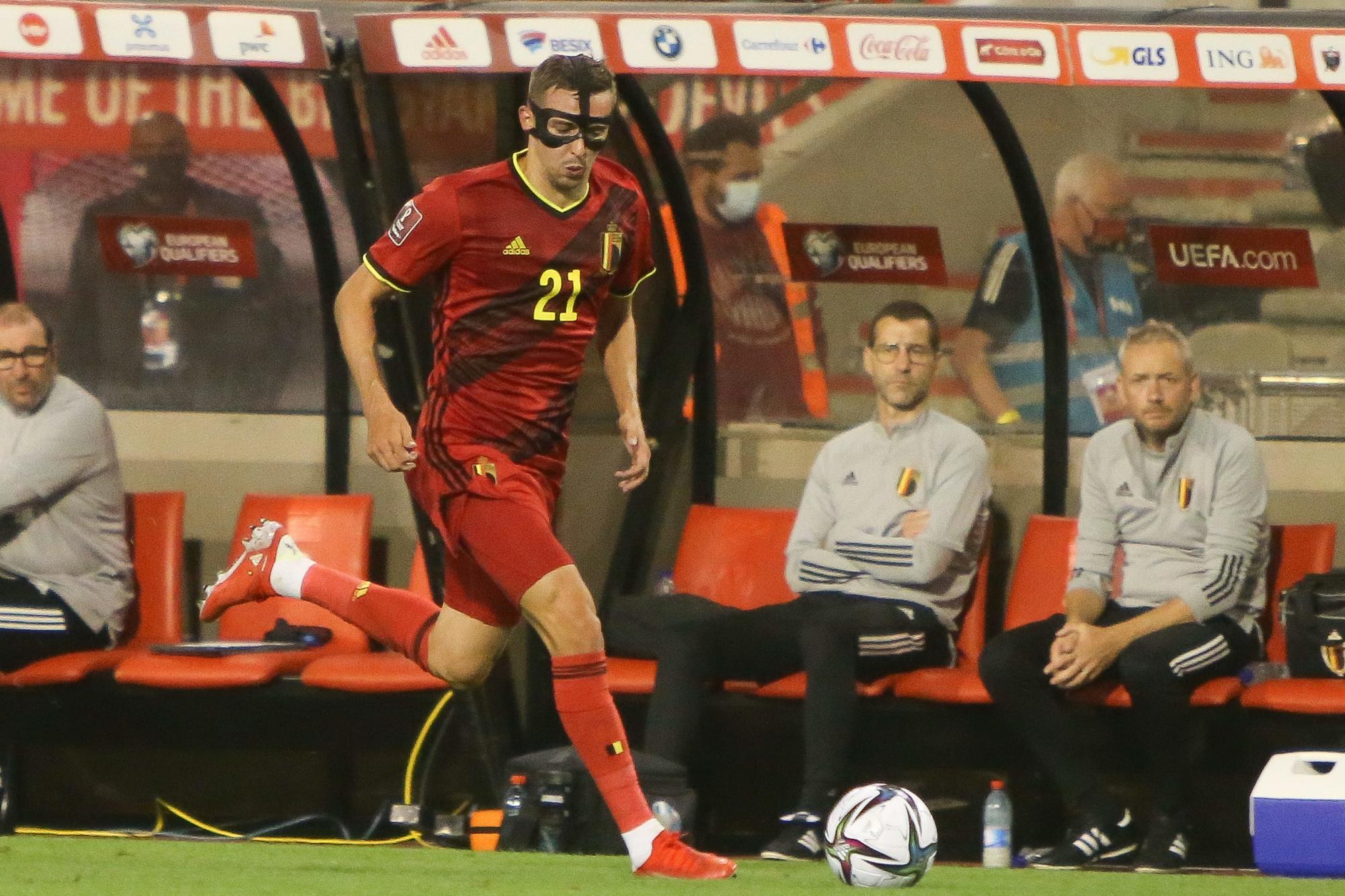 Castagne sans peur mais avec masque., belga