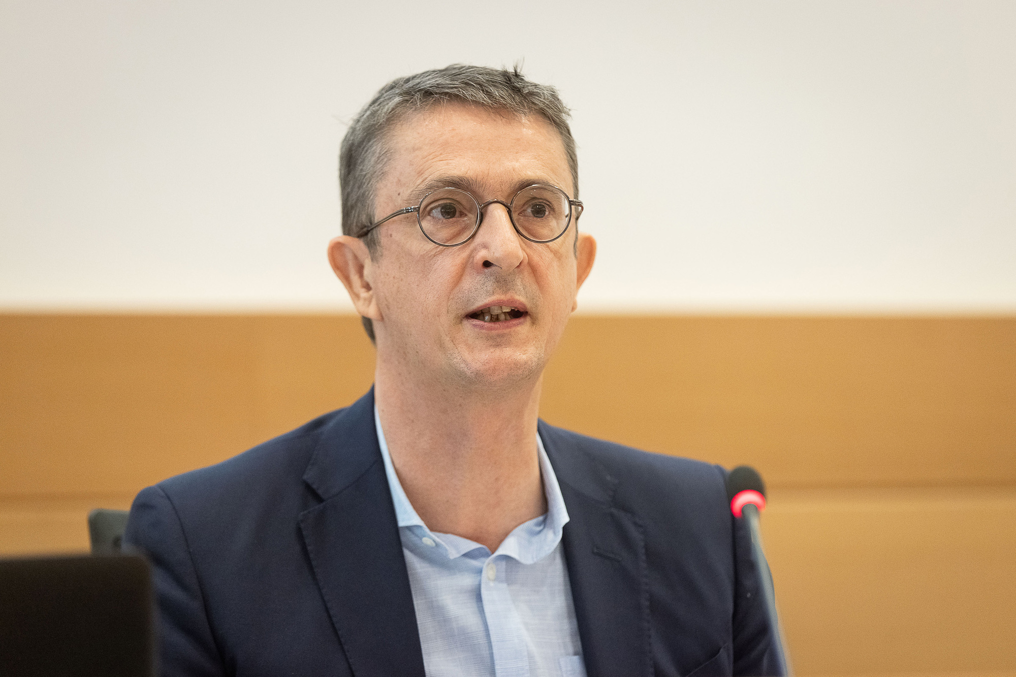 Bpost-CEO Dirk Tirez, Belga Image