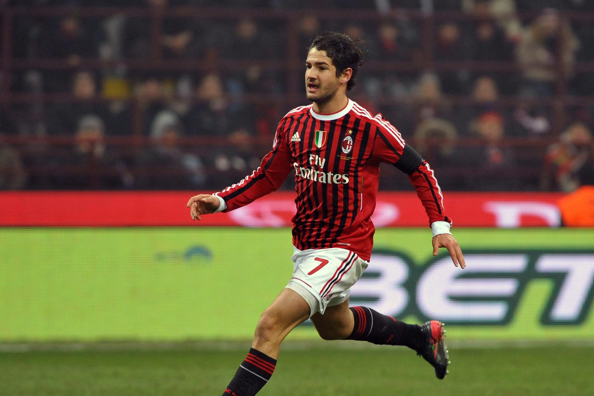 Alexandre Pato du temps de sa splendeur rossonera., ICONSPORT