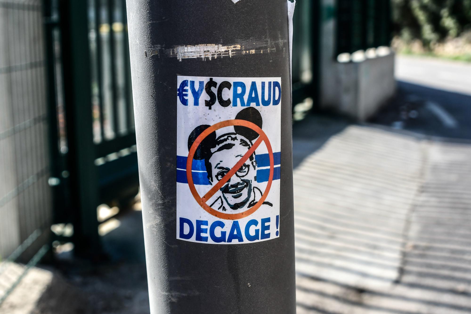 Eyraud s'est attiré les foudres des supporters phocéens., ICONSPORT