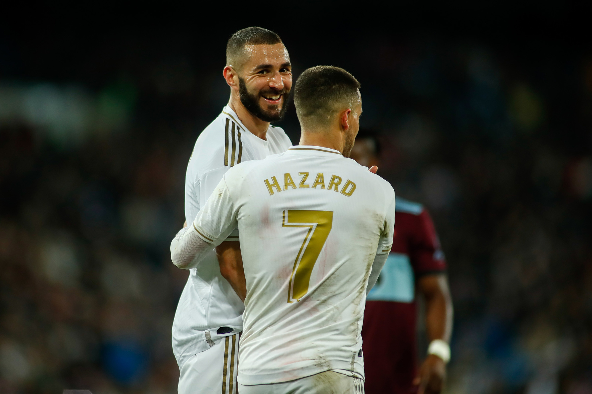 Real Madrid heeft met Hazard en Karim Benzema een nieuw koningskoppel, GETTY