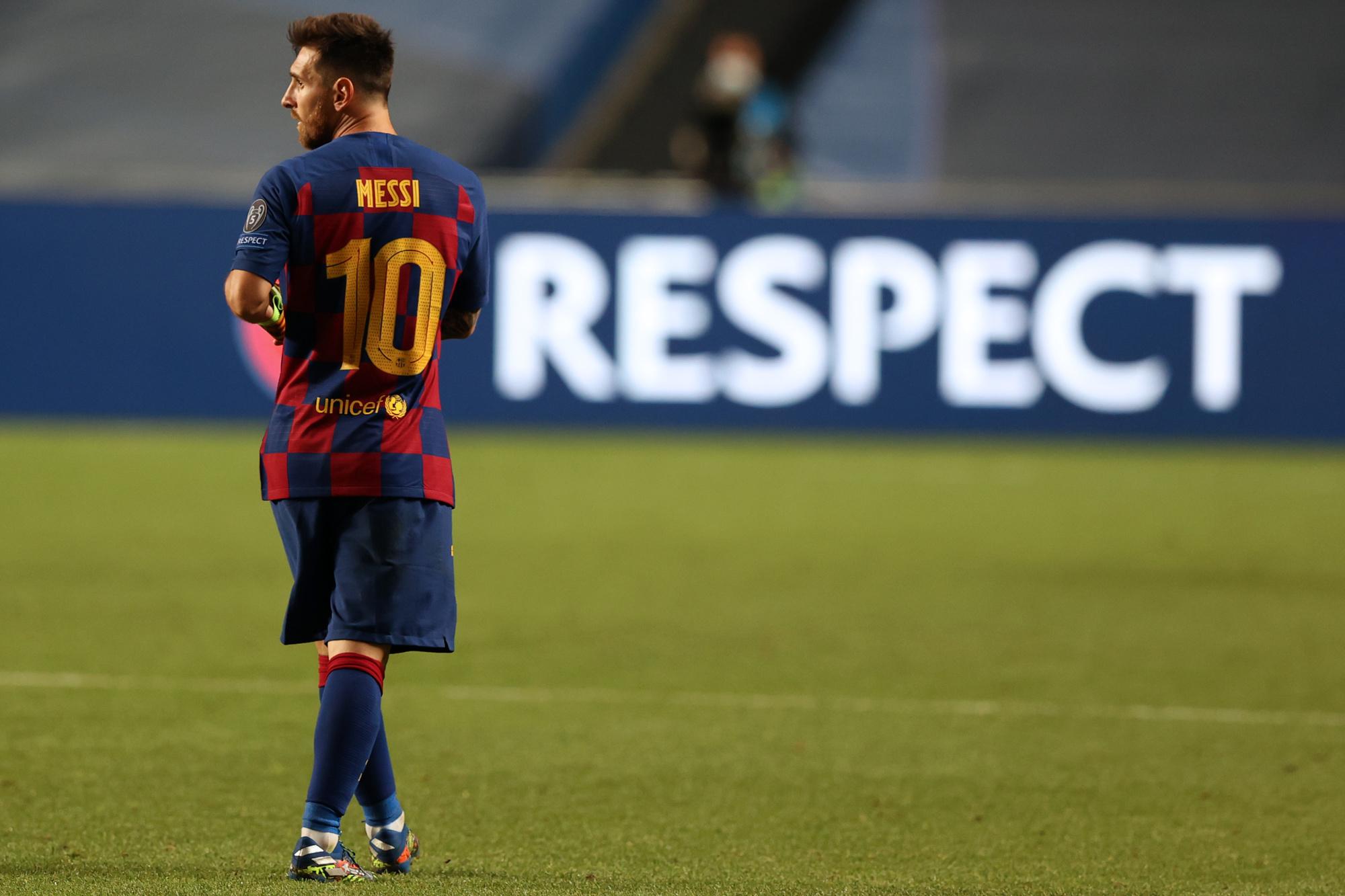 Le Barça a connu une saison catastrophique, mais pas Messi., Rafael Marchante / AFP
