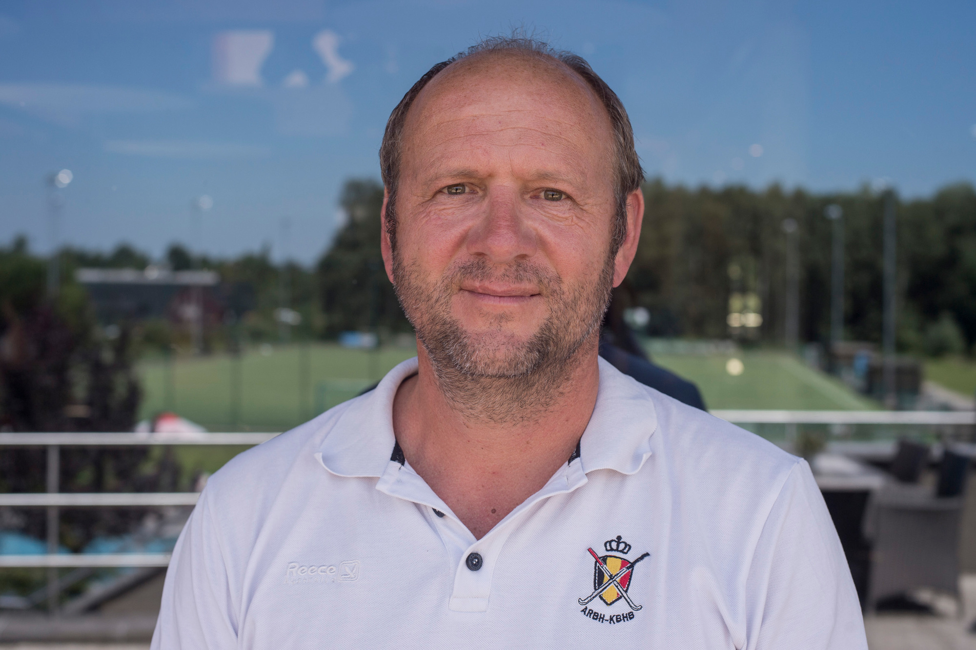 Assistent-coach Michel Van den Heuvel, Belga Image