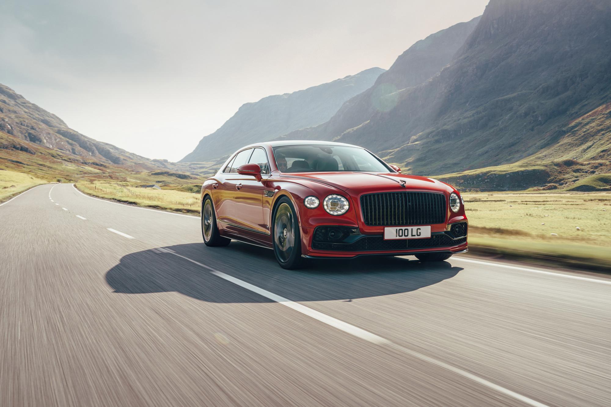 Bentley Flying Spur V8, GF
