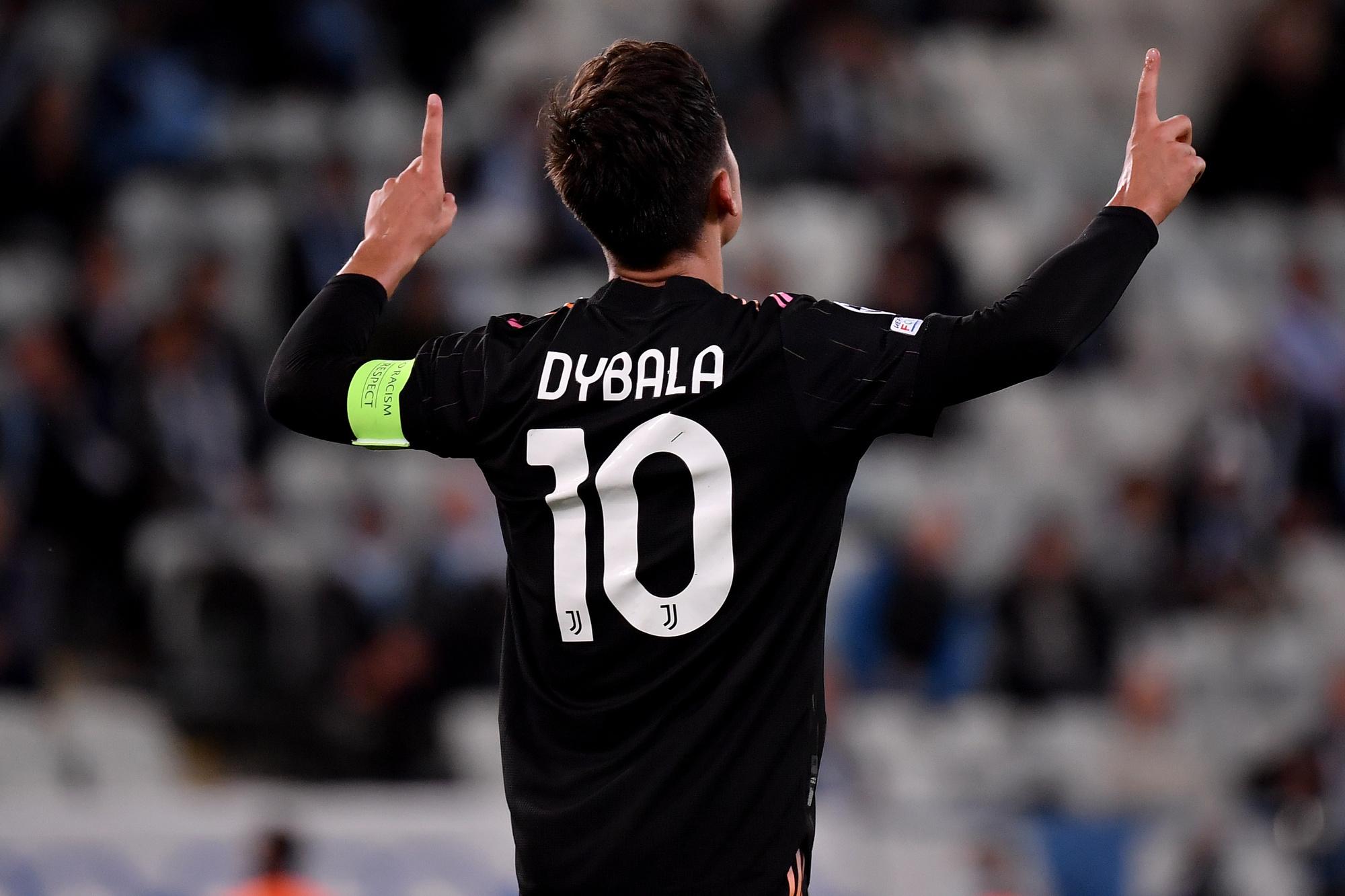 Paulo Dybala a été l'un des artisans de la large victoire de la Juventus à Malmö., belga