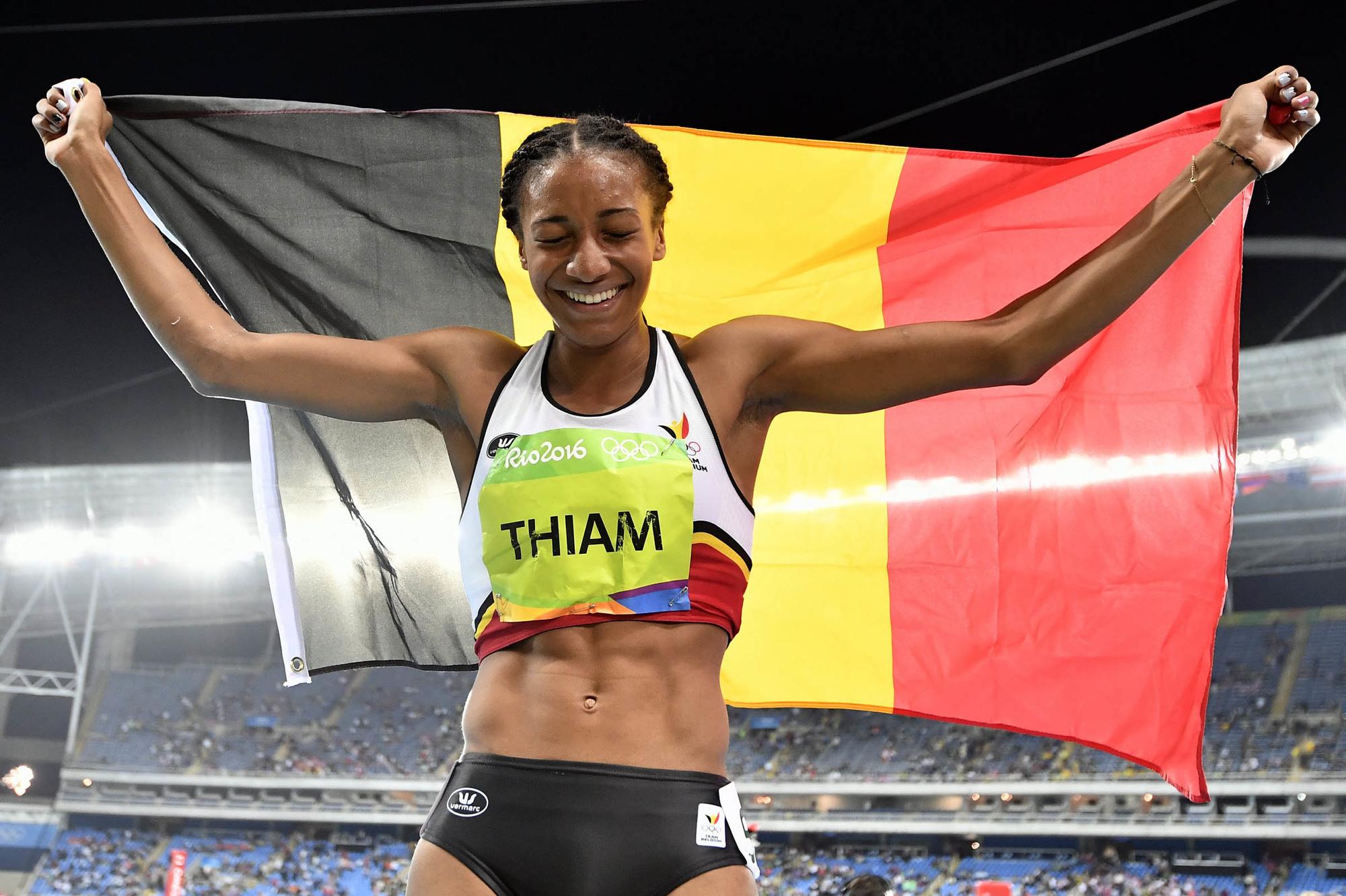 Er is geen completere atlete te vinden dan Nafi Thiam, Belga Image