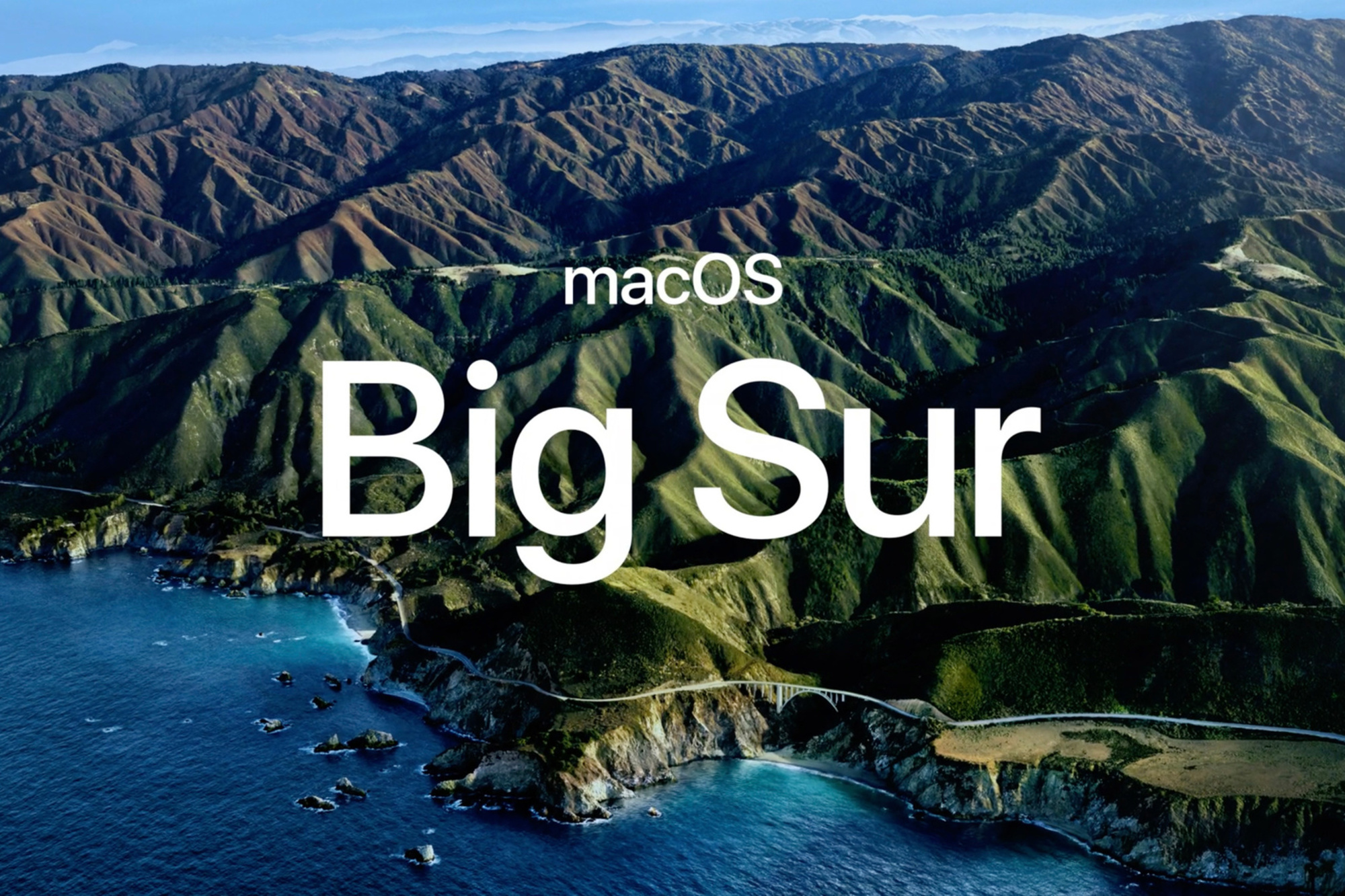 Big Sur, oftewel macOS 11., Apple