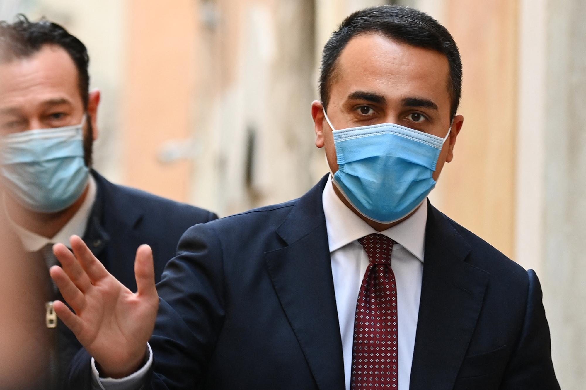 Luigi Di Maio, Vincenzo PINTO / AFP