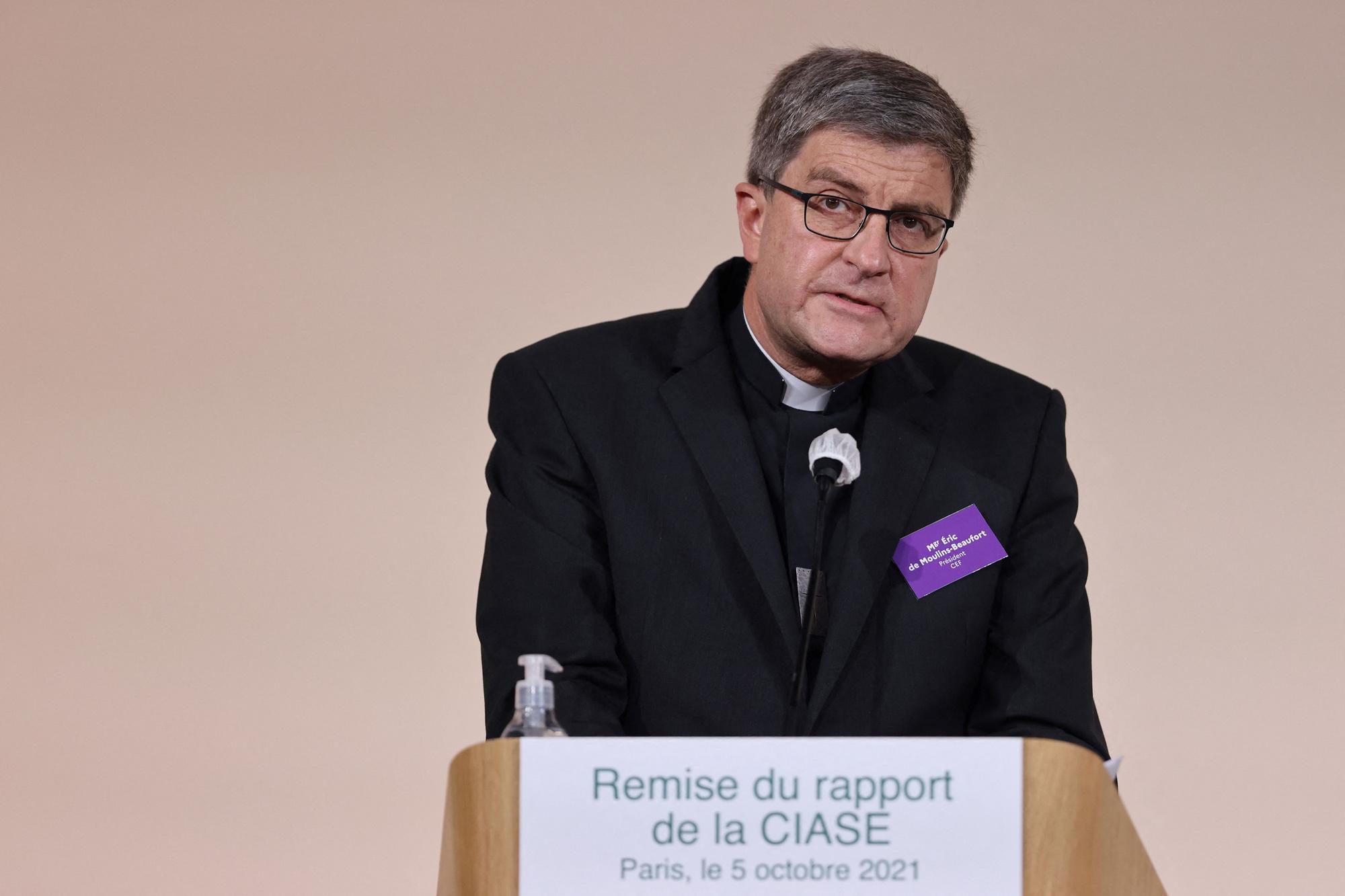 """Eric de Moulins-Beaufort a exprimé mardi """"sa honte"""", """"son effroi"""" et a demandé """"pardon"""" aux victimes de pédocriminalité., iStock"""