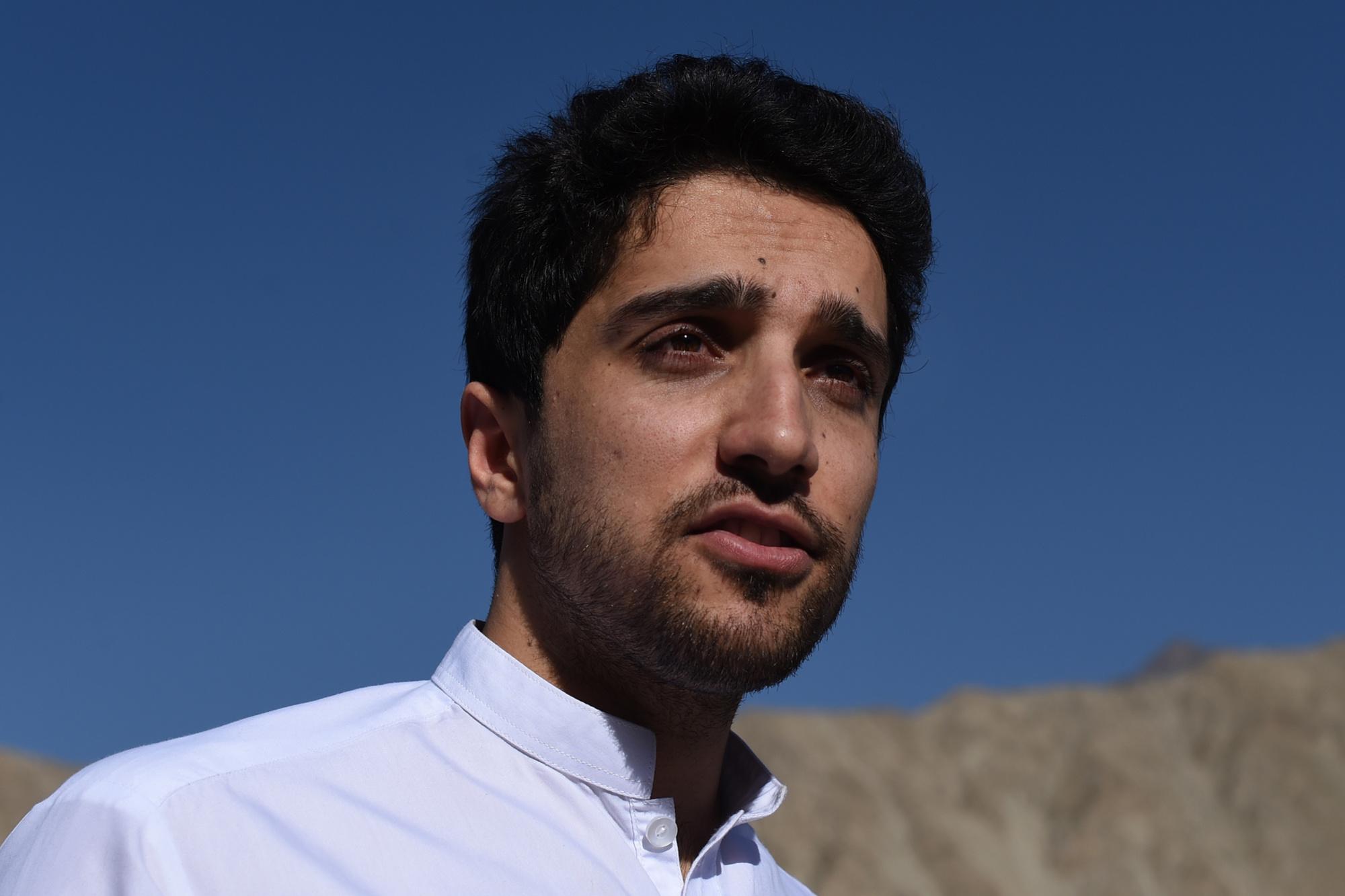 Ahmad Massoud (foto 2016), Getty