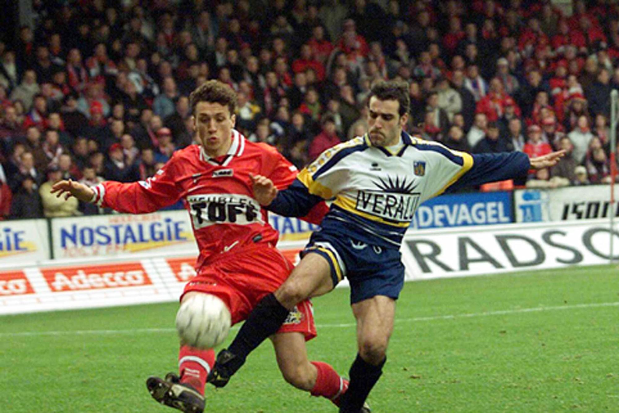 Un duel acharné entre Toni Brogno et Alexandre Teklak., belga