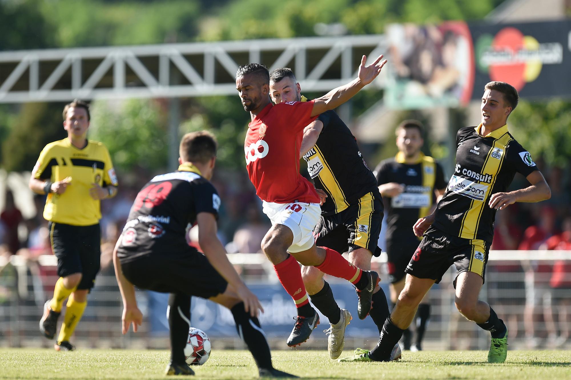 Les Namurois ont reçu le Standard en préparation cette saison., belga