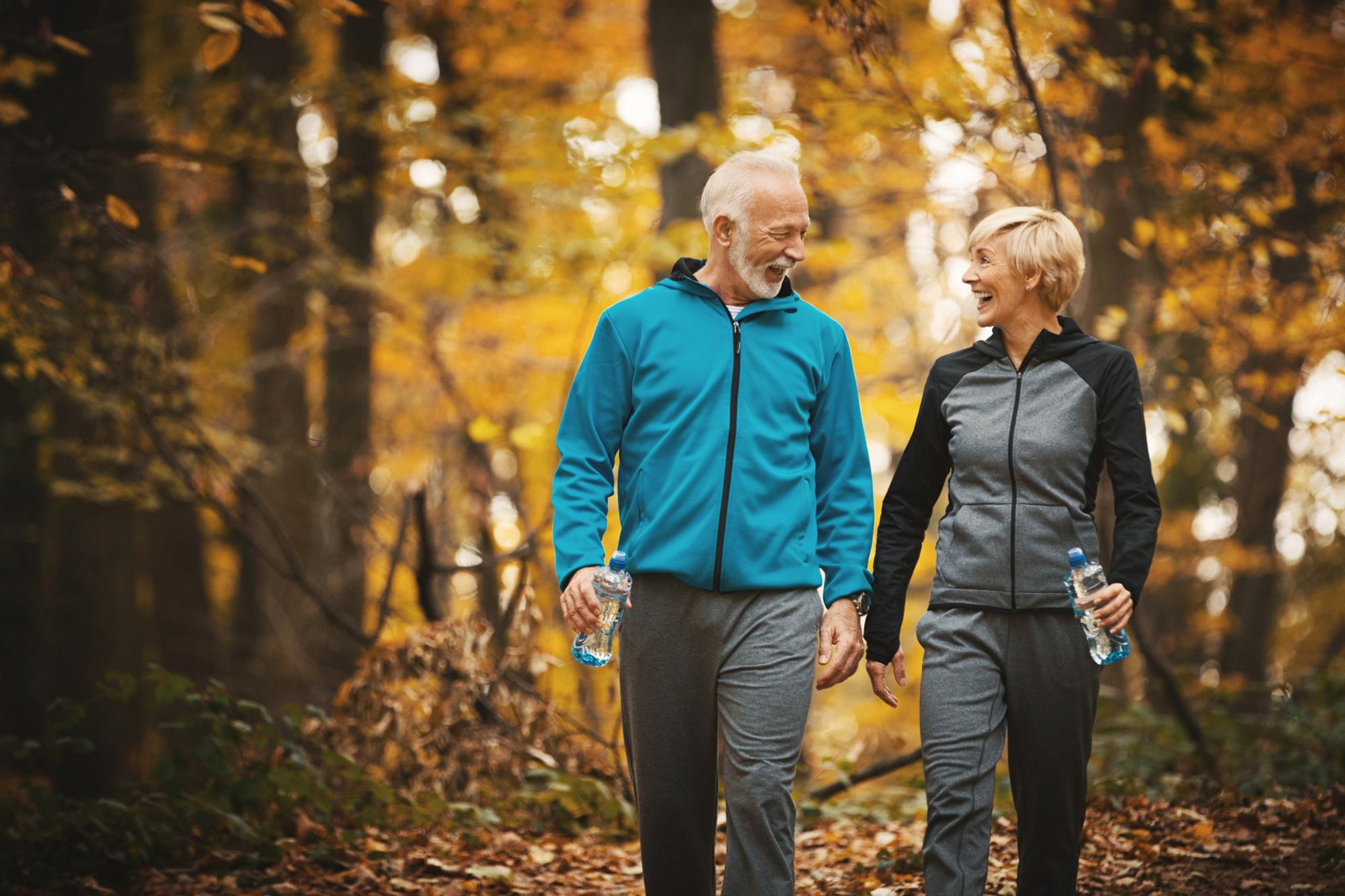 'Als je tegen zeven kilometer per uur stapt, ben je heel actief aan het wandelen', iStock