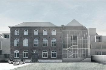 De kloostersite in Lubbee, zoals die eruit zal zien na de vernieuwbouw., Z.org Ku Leuven