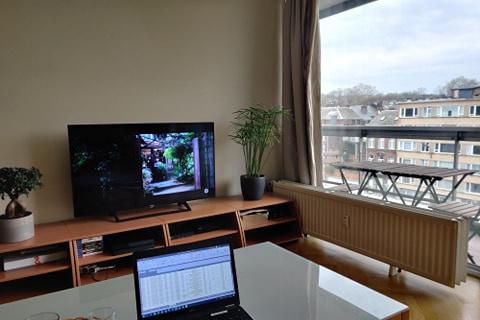 L'appartement de Toulouse où il télé-travaille, DR