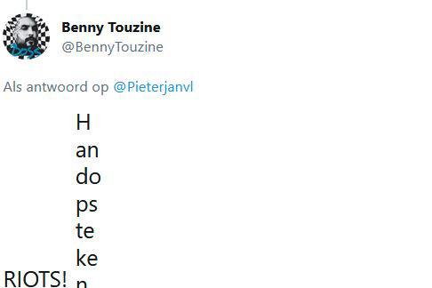 Les émoticons sur Twitter sont affichés sous forme de texte plein en raison d'un problème., .