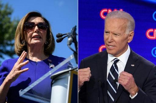 Nancy Pelosi en Joe Biden