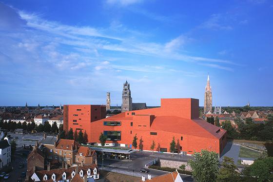 Concertgebouw Brugge, Robbrecht en Daem, Robbrecht en Daem