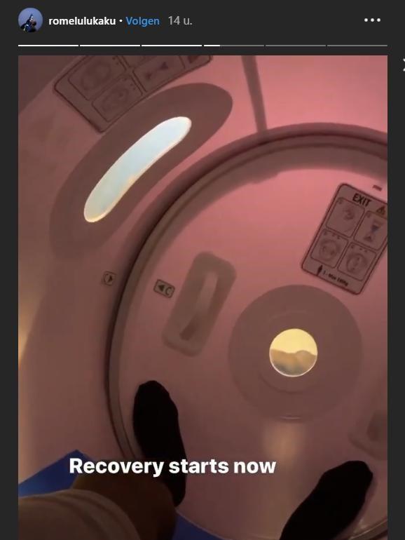 De zuurstoftank van Lukaku, Instagram