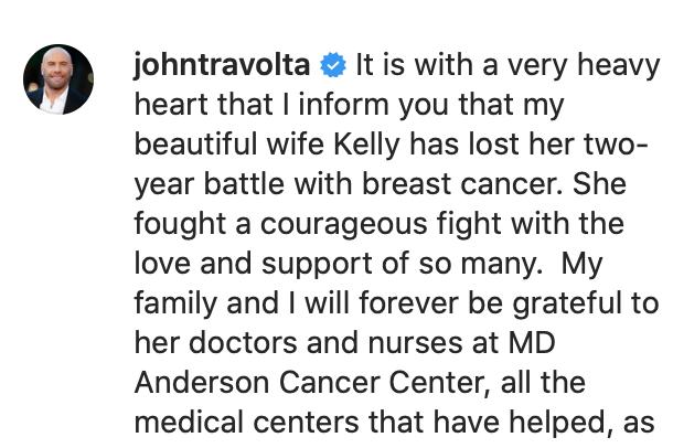 Instagram @johntravolta