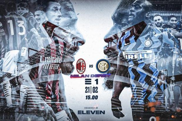 Volg de wedstrijd zondag om 15 uur op Eleven Sports, Eleven Sports