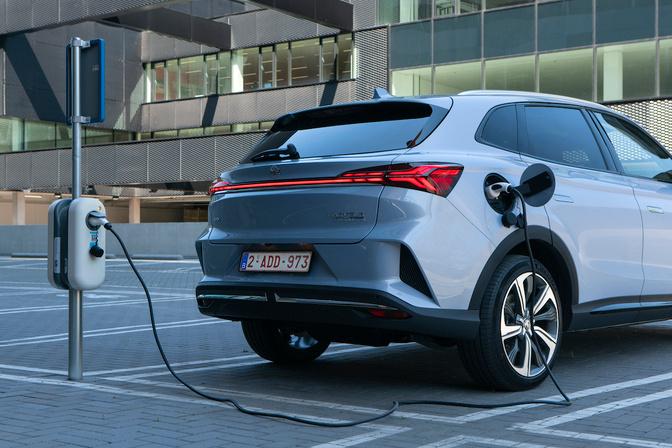 De Marvel R heeft een batterij van 70 kWh., GF